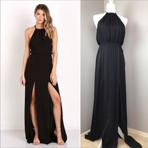 "Stone Cold Fox ""Onyx Gown"" in Black Silk I16"
